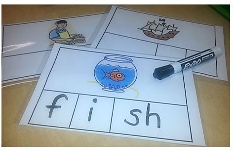 Let's Build With Digraphs (th, sh, ch, & wh)-This digraph resource pack includes three engaging, hands-on activities to help your students practice spelling and building words with beginning and ending digraphs th, sh, ch, and wh. $                                                                                                                                                                                 More