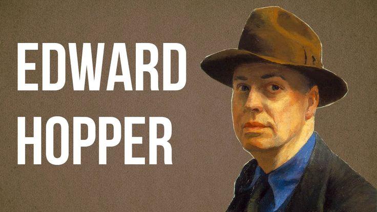 Edward Hopper passou a vida pintando cenas alienadas que não são deprimentes de se olhar. Fazem-nos sentir menos solitários.  (ative as legendas closed caption)  Ele usou a arte terapeuticamente: para nos reconciliarmos com a solidão dentro de de nós.