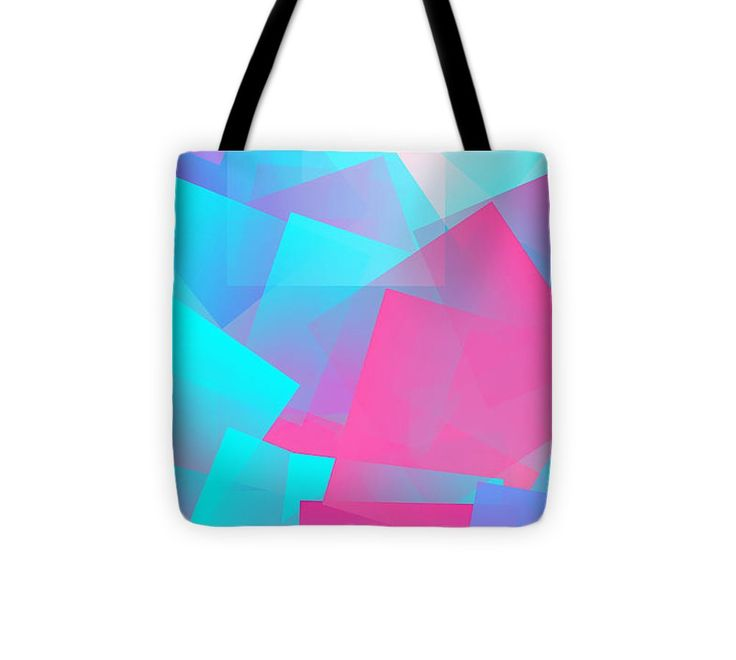 Cubism Abstract 167 Tote Bag #totebag #bag #abstract #colorful #design #art #Lifestyle