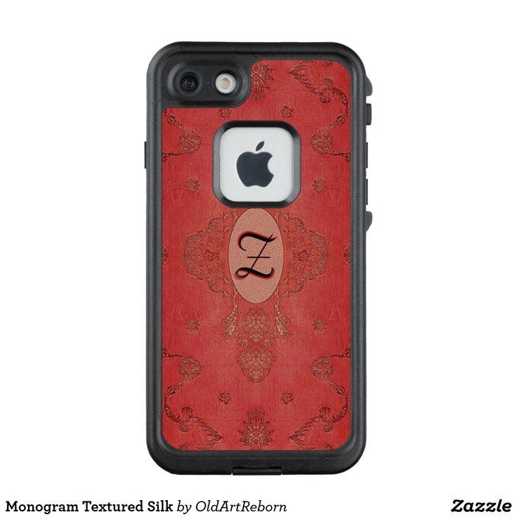 Monogram Textured Silk LifeProof FRĒ iPhone 7 Case