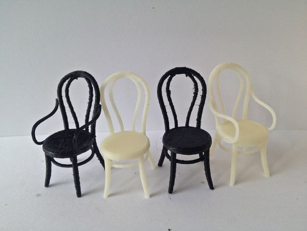 1:24 Thonet Chair by PrettySmallThings - Thingiverse