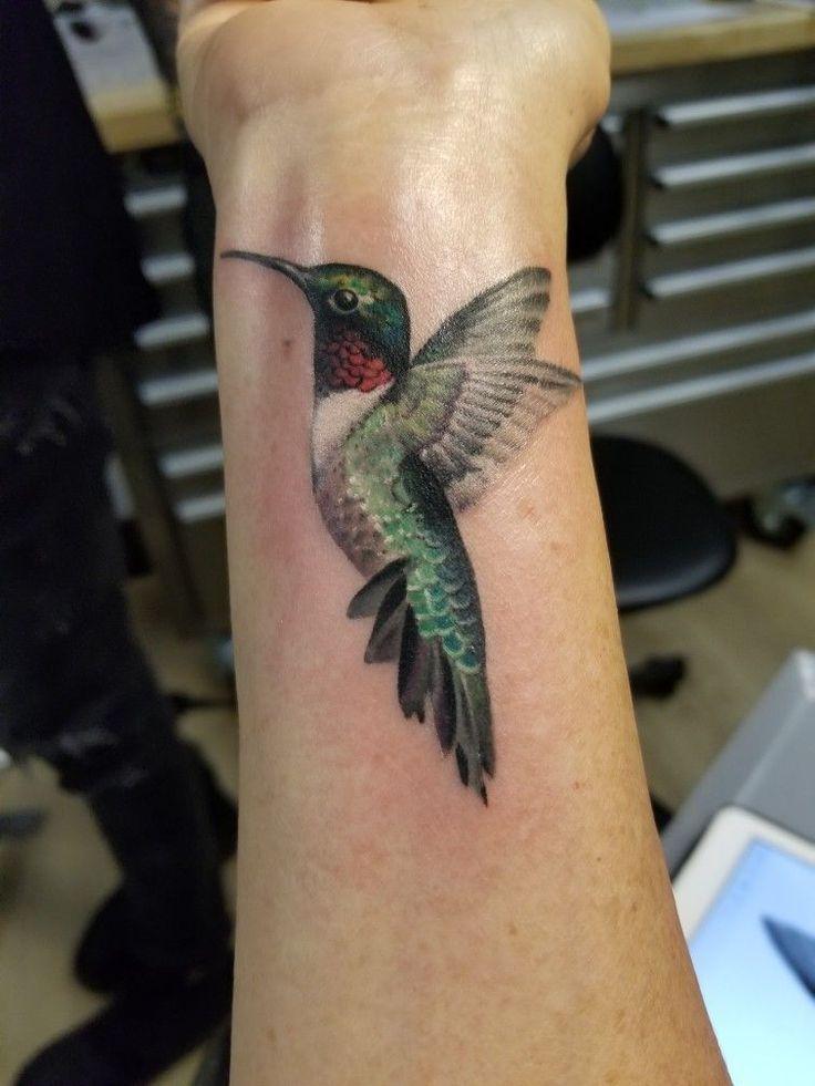 Hummingbird tattoo TattooIdeasForMoms Foot tattoos