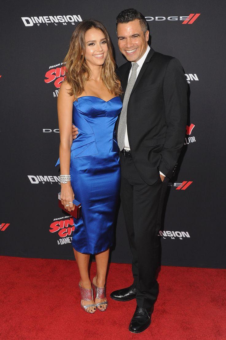 While filming Fantastic Four, Alba met Cash Warren, the son of actor Michael Warren. The pair married in 2008 and have two daughters.    - HarpersBAZAAR.com