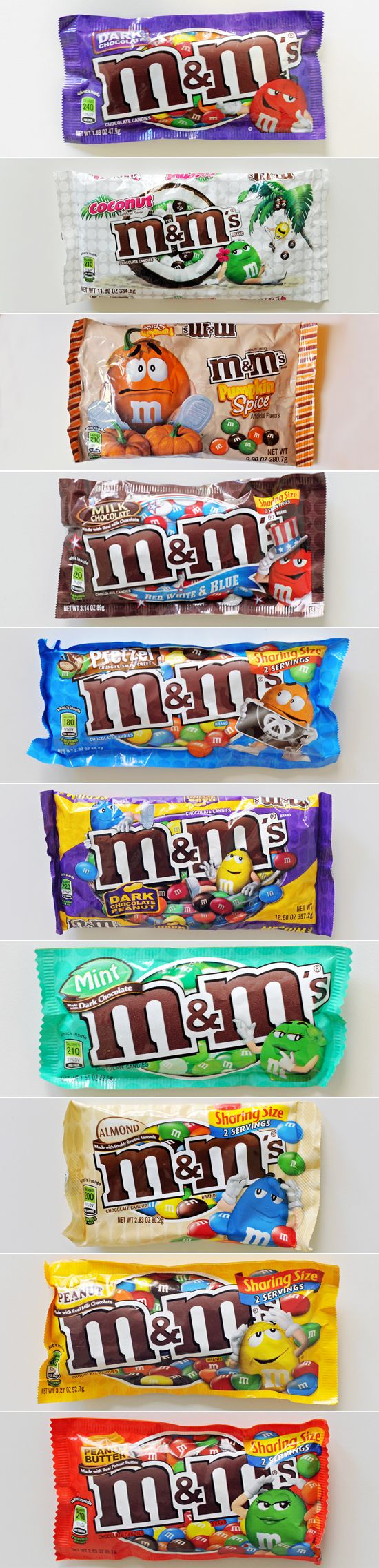 All the M&M's flavors, ranked from worst to best! Do you agree?