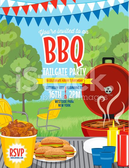149 best BBQ Invitation Templates images on Pinterest Invitation - picnic flyer template