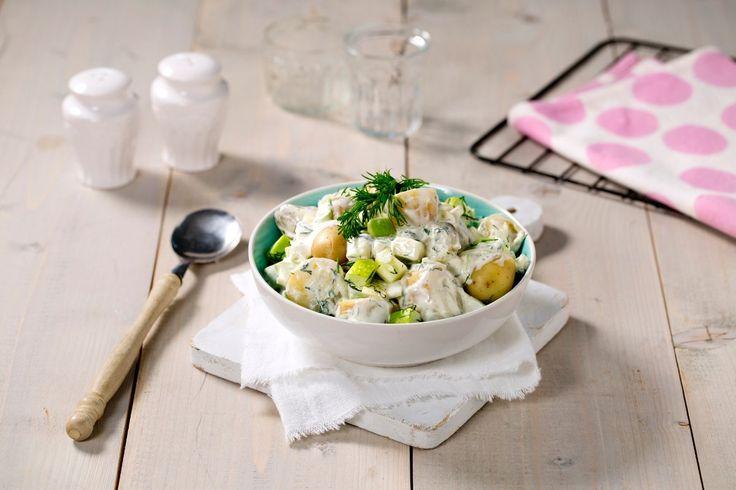 Kesam® gjør potetsalaten lett, frisk og god. Perfekt tilbehør til sommerens grillretter.