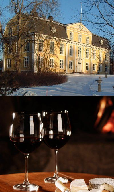 Welcome to enjoy of our warm atmosphere in a peaceful surrounding. Svartå Slott's park is magic also in the winter!