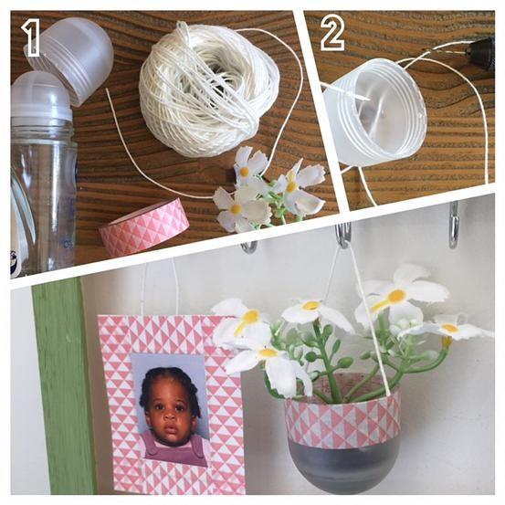 bykinanoe | DIY / recyclage / upcycling Transformer un bouchon en mini-pot pour plante !