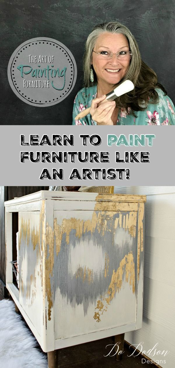 Painting furniture is more than just a hobby. It's a dream, it's therapy, it's a…