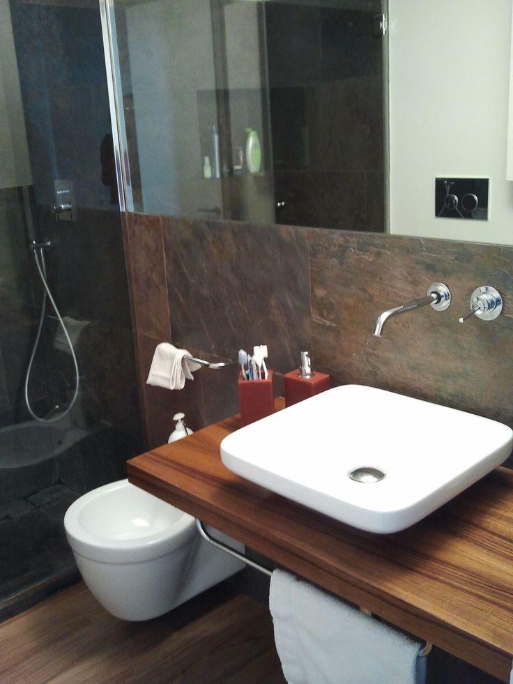 Le 25 migliori idee su bagno in ardesia su pinterest bagni con doccia bagni in piastrelle di - Bagno in ardesia ...