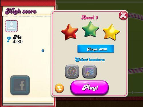 Candy Crush Saga Level Setup: screenshots, UI