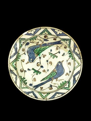An Iznik pottery Dish Turkey, first half of 17th Century