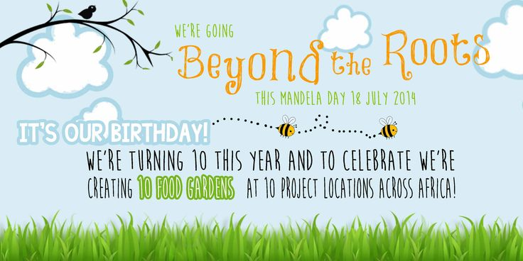 On July 18th, we celebrated our 10th birthday by building 10 sustainable food gardens in 10 communities across Africa.   Learn more here: https://www.youtube.com/watch?v=HfEQ-...https://www.youtube.com/watch?v=HfEQ-Mt-cB0&list=UU6t9xgLeQICESGlY7uqdkgQ
