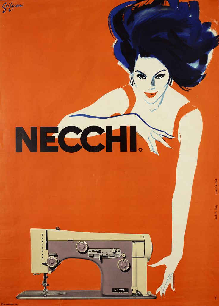 Necchi (Sewing Machine) how times change, this is not the market audience for sewing mush anymore