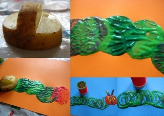 the very hungry caterpillar craft activities by www.nurturestore.co.uk, via Flickr