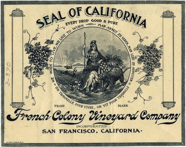Seal of California Wine