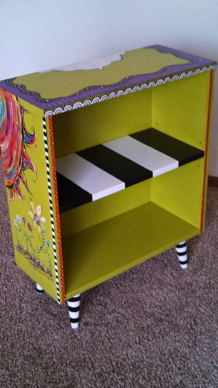 284 best images about whimsy painted furniture on pinterest