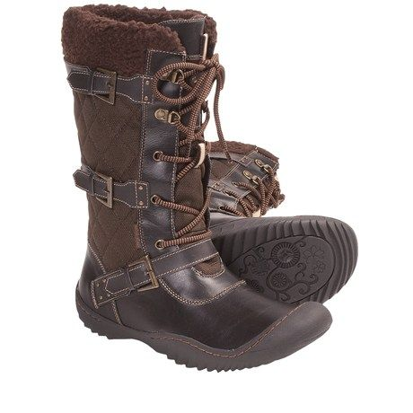 So cute! Keep the look without the cruelty! Jambu Mount Everest Vegan Winter Boots (For Women) in Brown