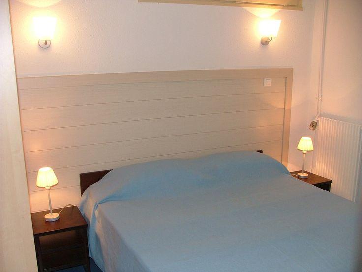Exemple de chambre, résidence Le Mas Blanc à Pérols.