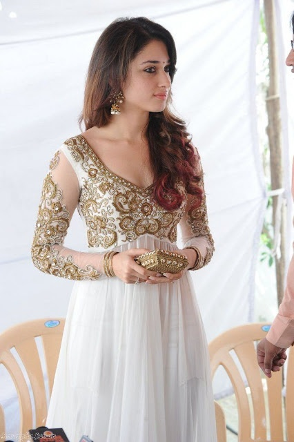 Tamanna In Salwar Kameez And Designer Frocks - Life 4 Fashion