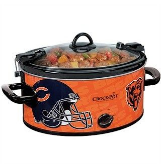 Chicago Bears 6 QT Crock Pot! Oh Heck Yes! I've got to have!