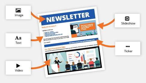 SnapComms new interactive newsletter tool