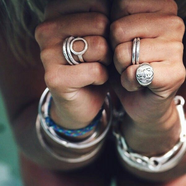 Daniella Draper rings, can't wait for my circle ring to arrive.