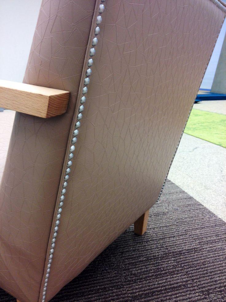 Vescom vinyl upholstery Design Brant