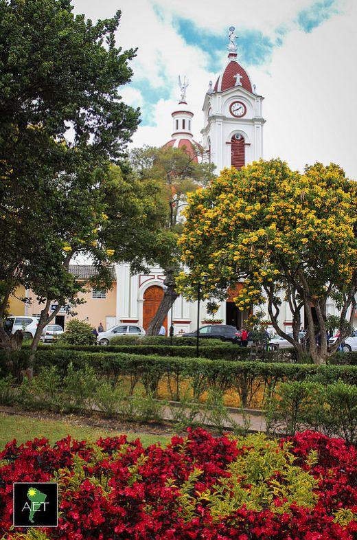 Subachoque Town Plaza, Subachoque, Colombia