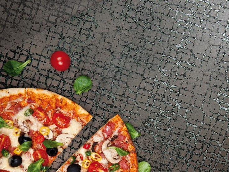 Pavimento/rivestimento in gres porcellanato ETRO METAL GREY by Unica by Target studio