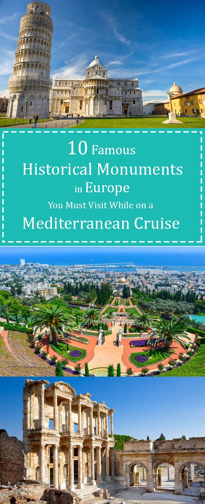 The evolution of culture in Europe has followed some diverse yet clearly defined paths. Nothing paints this more clearly that the many famous historical monuments in Europe. Some of these, especially the important ones, also have a connection with the historical events that shaped Europe. Ten of these that you might want to visit include;
