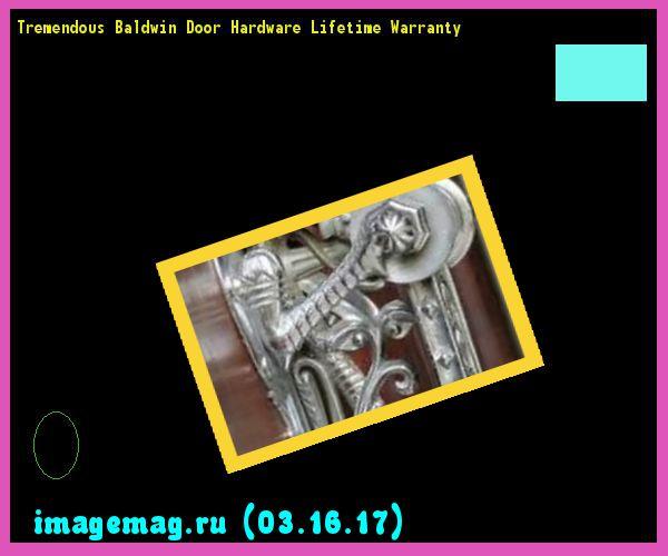 Tremendous Baldwin Door Hardware Lifetime Warranty  - The Best Image Search