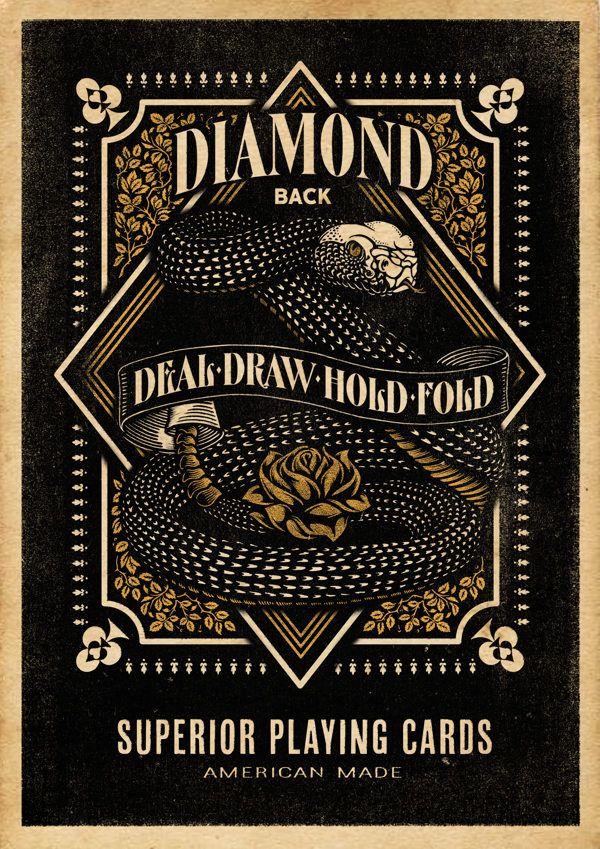 Diamondback Playing Cards on Behance