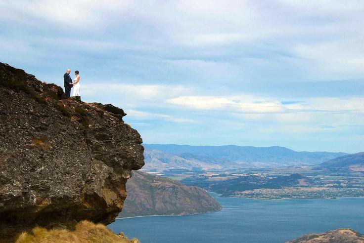 Wanaka Lookout Hill Wedding | New Zealand Dream Weddings