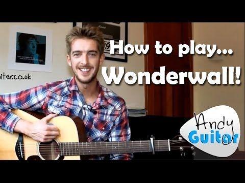 Wonderwall   Oasis (How to play) Easy