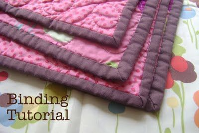Diary of a Quilter - a quilt blog: Quilt Binding Tutorial