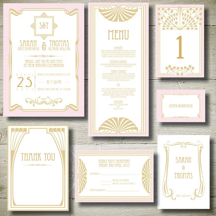 1664 best Pink Wedding Invitations images on Pinterest