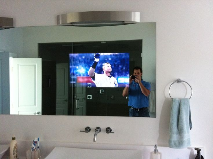 mirror bathroom tv 25 best ideas about bathroom tvs on tvs for 13657