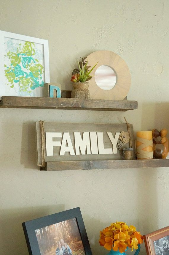 2 ft. Floating Shelves or Picture Ledges by OldHousetoNewHome