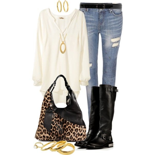 """""""White Blouse Outfit"""" by angela-windsor on Polyvore"""