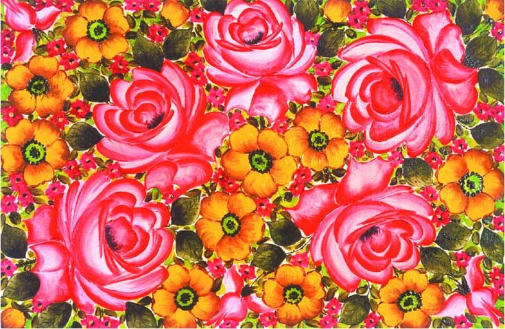 Famous mexican paintings of flowers