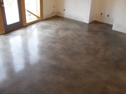 12 best images about concrete flooring on pinterest for Best wax for stained concrete floors