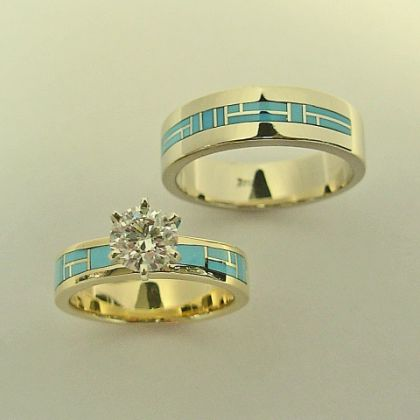 Best 25 Turquoise wedding rings ideas only on Pinterest
