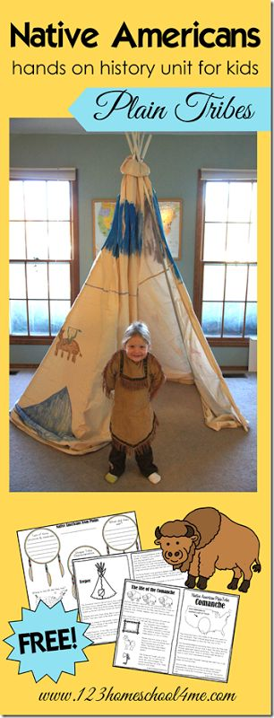 native americans plains tribes history for kids