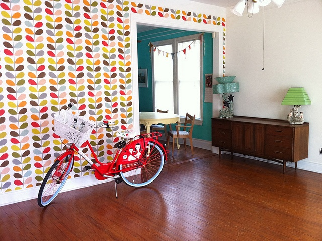 Orla Kiely wallpaper - my personal favorite in 2014