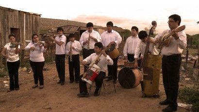 Great documentary about a group of students in Paraguay who play music with instruments made from things they found in a landfill.