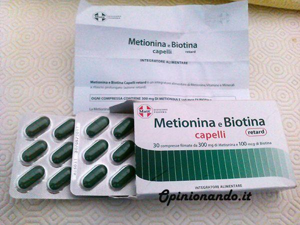 #Metionina e #Biotina #Capelli , l'integratore di #Matt&Diet per l'uomo che vuole rafforzare la #salute del #capello