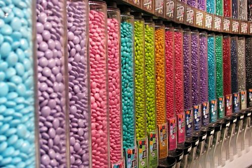 the candy store: Las Vegas, Time Squares, Features Wall, Theme Parties, Color, Girly Things, Parties Favors, Mms, Heavens