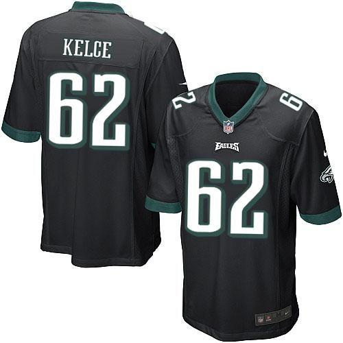 Nike NFL Philadelphia Eagles #62 Jason Kelce Limited Youth Black Alternate Jersey Sale