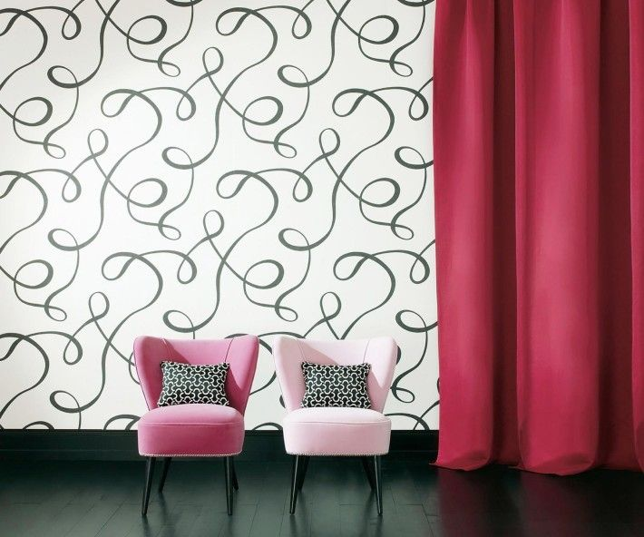 Home decoration, Wonderful Wallpaper Design For Decorating Your Modern House Interior: 5 steps of decorating interior with wallpaper5 steps of decorating interior with wallpaper